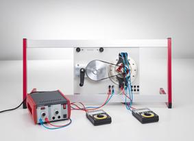 Génération d'une tension alternative avec un alternateur de centrale électrique (alternateur à pôle intérieur électromagnétique)