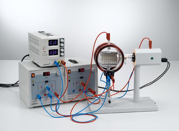 Montage d'un filtre de vitesses (filtre de Wien) pour la détermination de la charge électrique spécifique