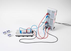Tracé de caractéristiques courant / tension de diodes électroluminescentes (LED) avec CASSY