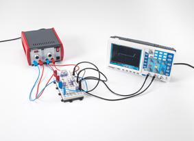 Tracé de la caractéristique d'un phototransistor branché comme une photodiode