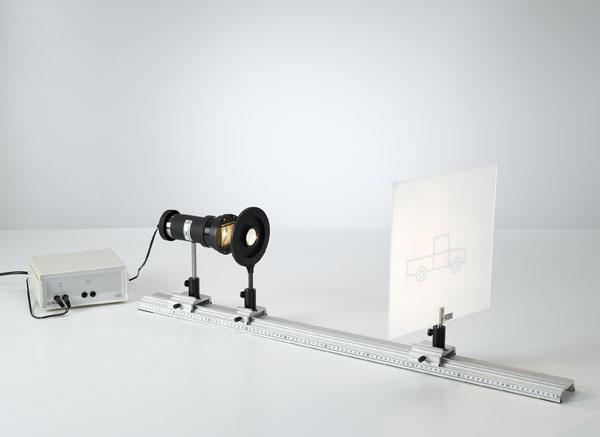 Détermination de la distance focale de lentilles convexes selon la méthode de Bessel