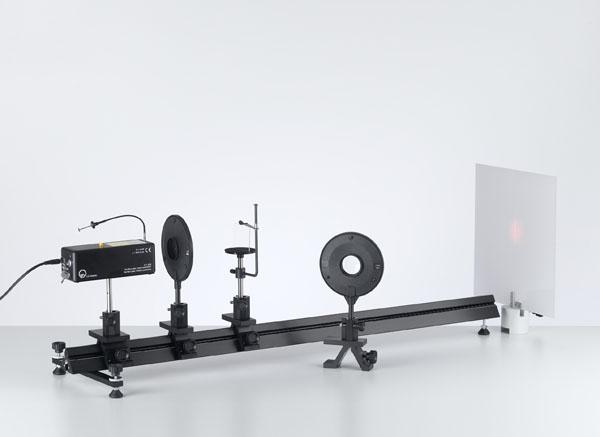 Interférence sur le biprisme de Fresnel avec un laser He-Ne
