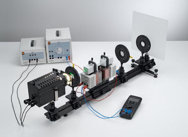 Effet Faraday: détermination de la constante de Verdet pour le flint en fonction de la longueur d'onde