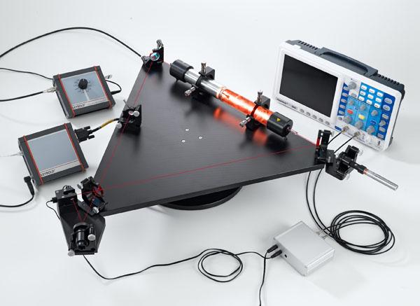 Gyroscope à laser HeNe