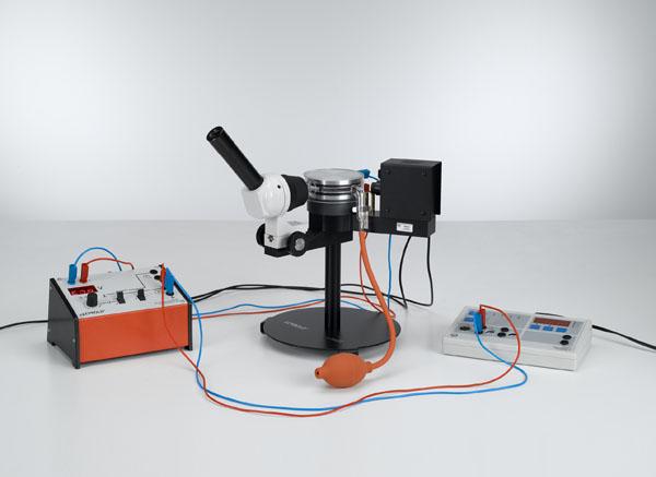 Détermination de la charge élémentaire électrique selon Millikan et mise en évidence de la quantification de la charge - Mesure de la tension flottante et de la vitesse de chute
