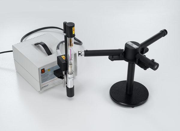 Observation de la série de Balmer de l'hydrogène avec un spectromètre à prisme