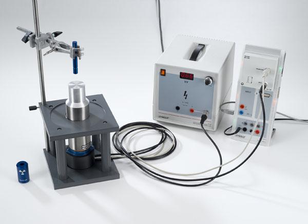 Mise en évidence du rayonnement γ avec un compteur à scintillations