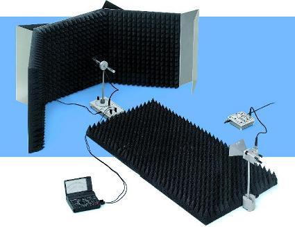 Expériences d'étudiants sur la technologie des antennes