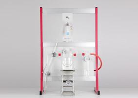 Synthèse qualitative de l'eau en utilisant du matériel de support