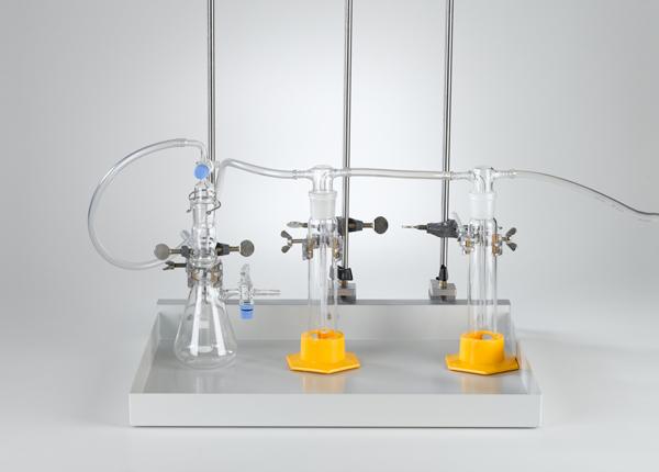 Fabrication de gaz avec un appareil de Kipp