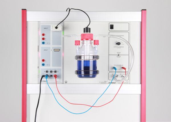 L'expérience de la bouteille bleue - une réaction d'oxydoréduction réversible