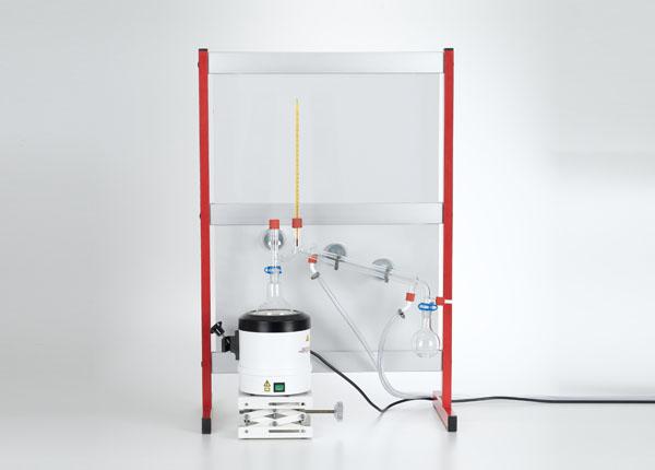 Nettoyage d'une substance par distillation à la vapeur d'eau