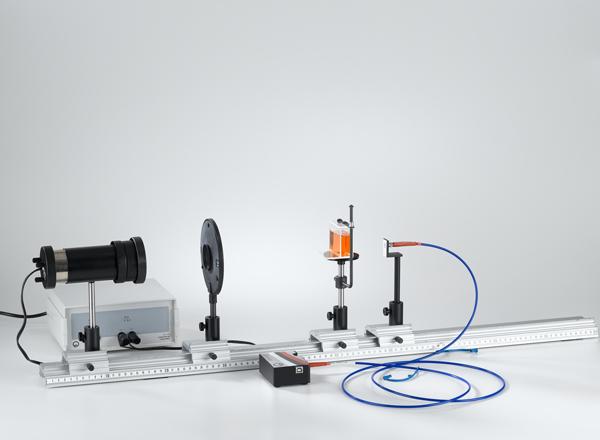Relevé de spectres d'absorption avec un spectromètre