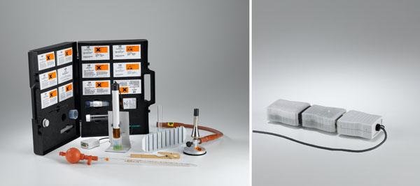 Détermination des constituants de l'eau avec des réactifs de détection et le photomètre à immersion