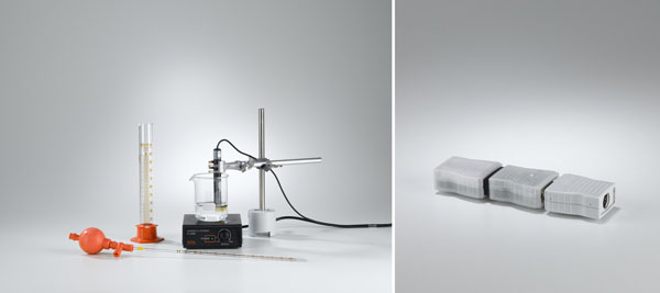 Hydrolyse de chlorure de butyle tertiaire