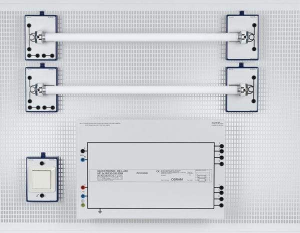 U 4.130 Circuits d'installation avec lampes fluorescentes (système modulaire)