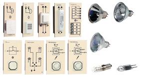 TG 4.120 Installation avec lampes à incandescence et halogènes, équipement supplémentaire