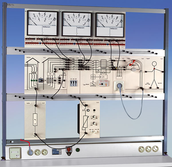 TG 0100 Mesures de protection selon VDE 0100 (système de plaques)