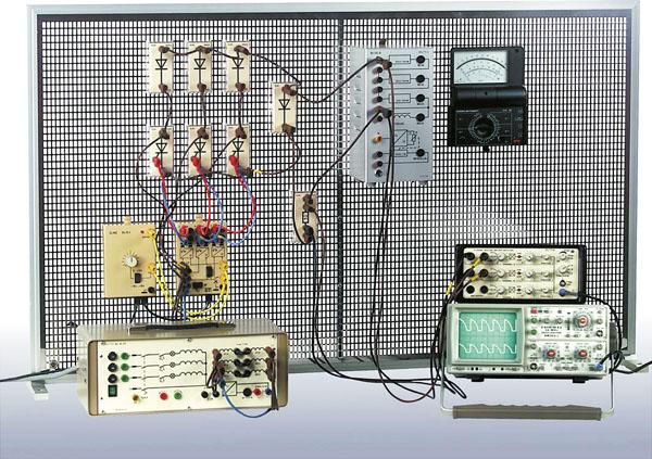 Electronique de puissance, équipement complet (système modulaire)